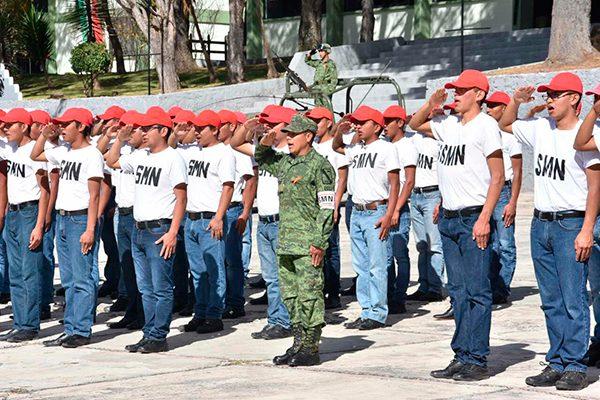 Cumplieron con el Servicio Militar cinco mil 672 jóvenes