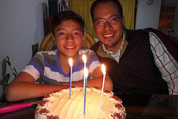 Iker Ávila cumple trece años