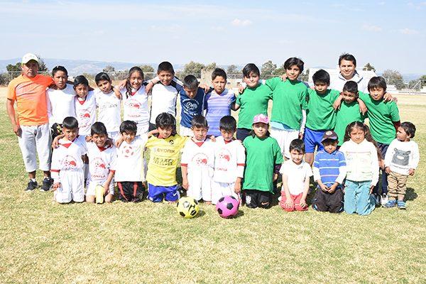 Crean el Centro de Formación Xaltipan de futbol