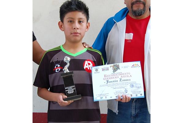 Jonathan Zamora fue el campeón goleador de la justa con 19 goles. / Everardo NAVA
