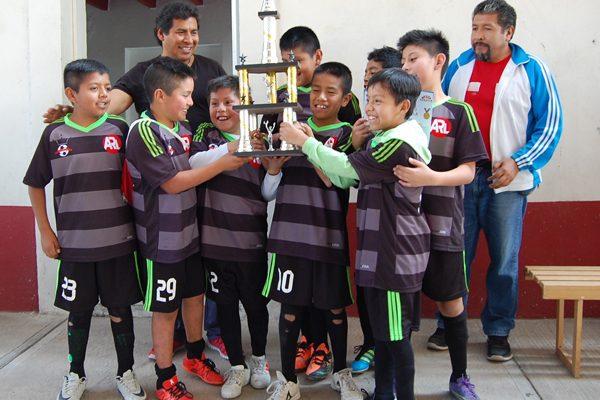 MG Junior, campeón  de futbol infantil