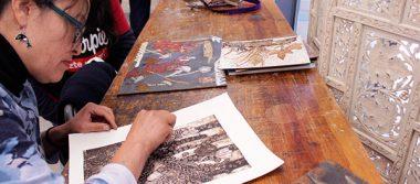 Finaliza taller de collografía en el Tebac