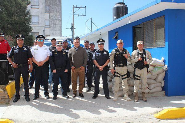Va la CES contra delincuentes que operan en Unidad Coatepec, Tetla