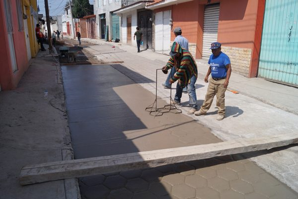 Aplica comuna de Calpulalpan más  de 20 mdp en 46 obras  de beneficio social