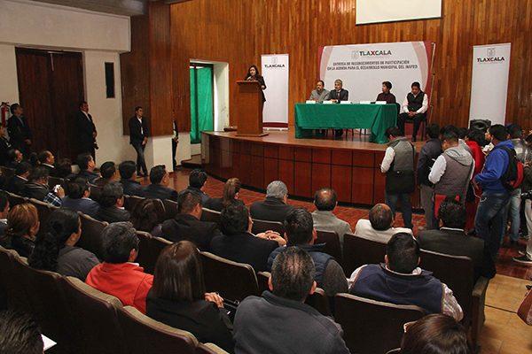Acredita Tlaxcala 132 indicadores de la agenda para el desarrollo municipal