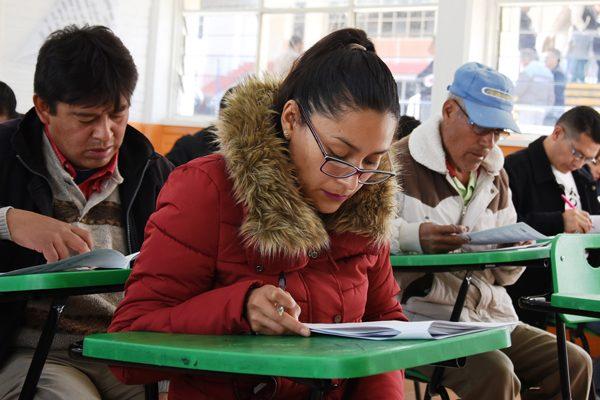 Aprueban examen mil  269 aspirantes al INE