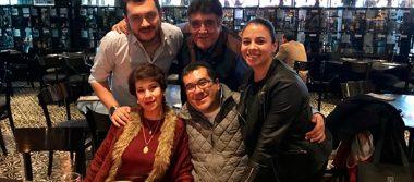 Festejan a Angélica Sánchez en su cumpleaños