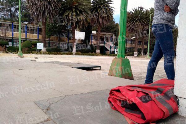 Normalistas de Panotla liberan instalaciones; se reunirán con el Secretario de Educación