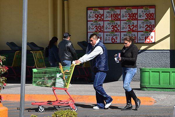 Sí 'pesa' a los tlaxcaltecas adquirir despensa de enero