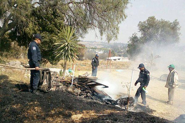 Continúan los incendios en Texoloc