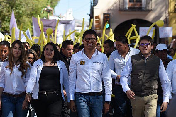 Cercanía, gestión y trabajo legislativo, ofrece Covarrubias en caso de ser diputado local