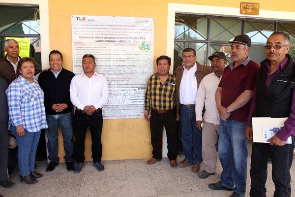 Inicia Sefoa registro de productores para el  Programa de Apoyo e Impulso al Sector Agrícola  2018