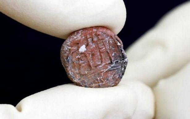 Hallan sello de 2 mil 700 años de antigüedad que confirma veracidad de la Biblia