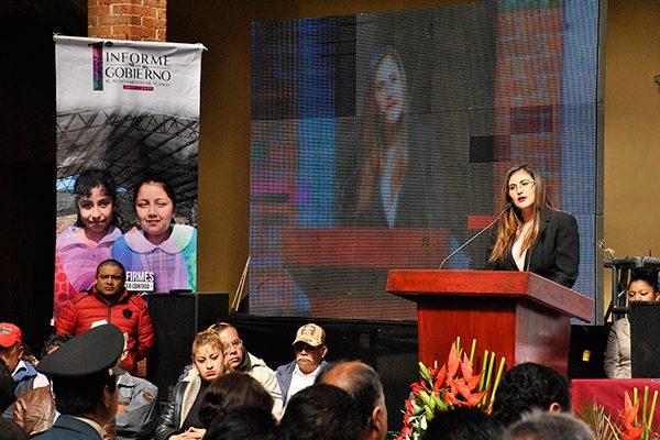 En Tlaxco es franco el combate al rezago social y a la pobreza