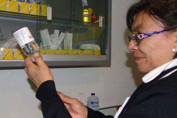 Registra Sesa 76 por ciento de avance en aplicación de vacuna contra la influenza