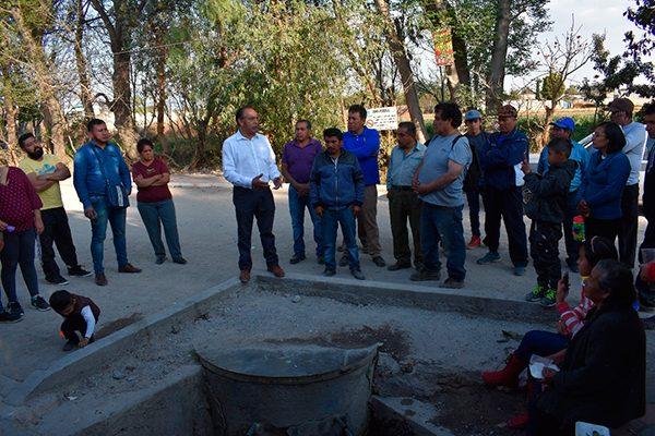 Impulsa alcalde de Zacatelco imagen urbana en la Sección Cuarta