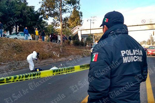Muere estudiante del Cobat atropellado por un automóvil particular