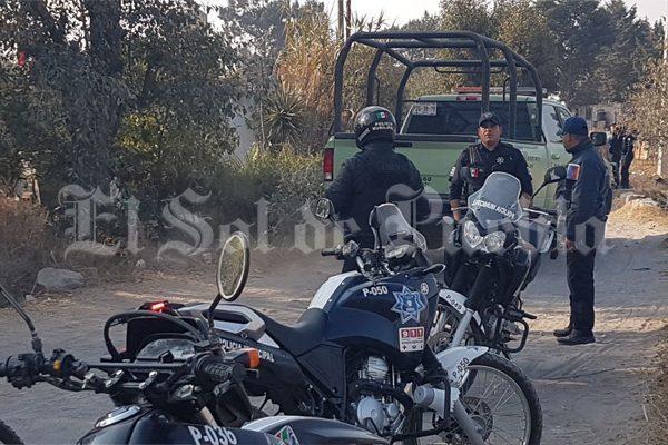 Se enfrentan a balazos ladrones de combustible y autoridades en Texmelucan