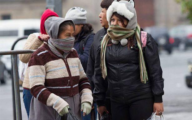 Prevén bajas temperaturas al norte, noreste y centro del país