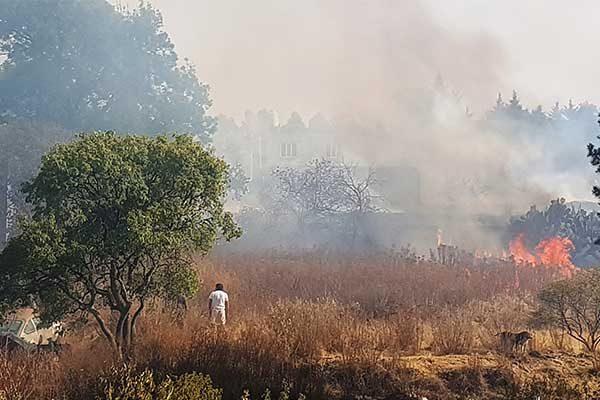 Registra Tlaxcala 150 quemas de pastizales