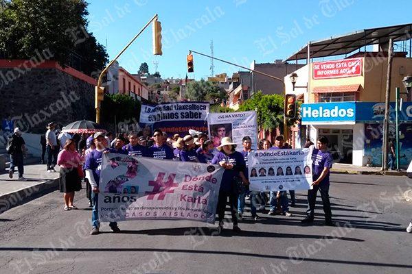 Exigen organizaciones frenar desapariciones de mujeres en Tlaxcala