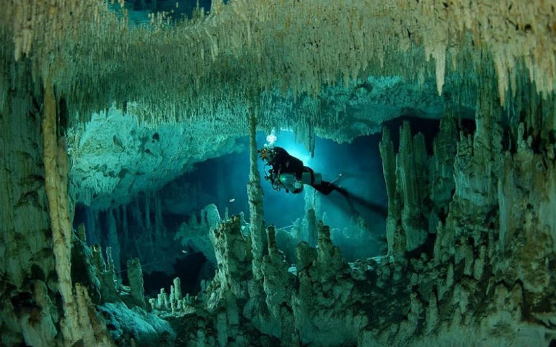 Descubren la cueva inundada más grande del mundo… y está en México