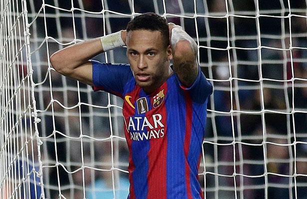 Neymar se perderá el Clásico contra el Real Madrid