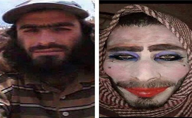 Yihadista intenta escapar de la ciudad de Mosul vestido de mujer