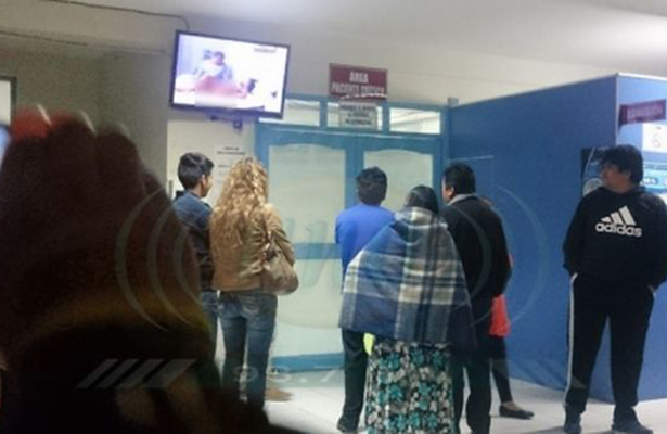 Denuncian carencias  en hospital de Fresnillo