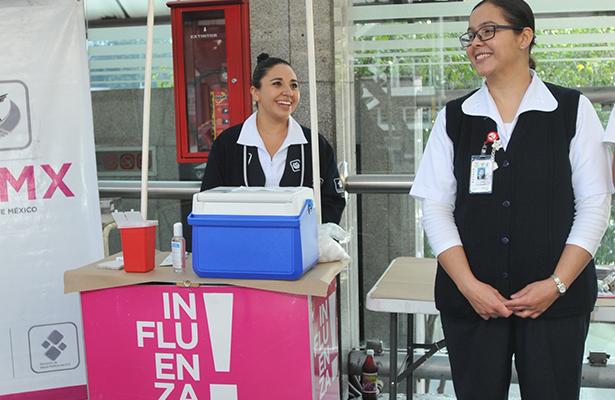 Registra Ciudad de México  solo cinco casos de influenza