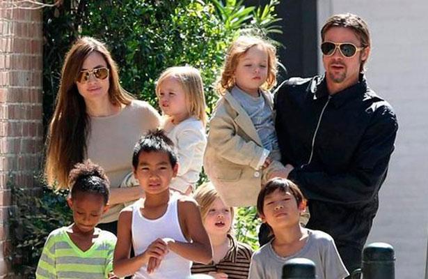 Pitt y Angelina Jolie perderían custodia de sus hijos