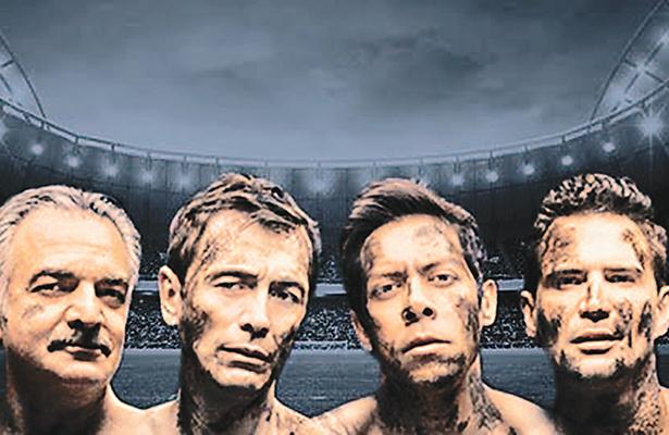 """Nada """"fuera de lugar"""". El lado """"b"""" del fútbol en el teatro Milán"""