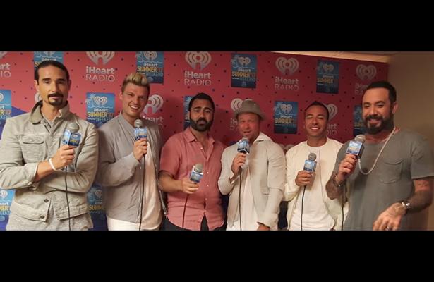 """[Video] Los Backstreet Boys fallan al cantar """"Despacito"""""""