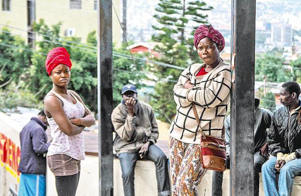 Familias haitianas, divididas