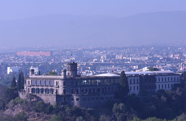 Reportan calidad regular del aire en el Valle de México