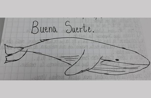 """Hallan a joven amenazada por no cumplir reto de la """"ballena azul"""""""
