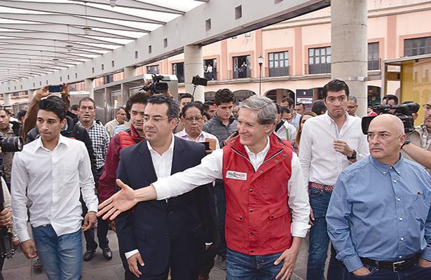 Actividad de los candidatos en el Estado de México