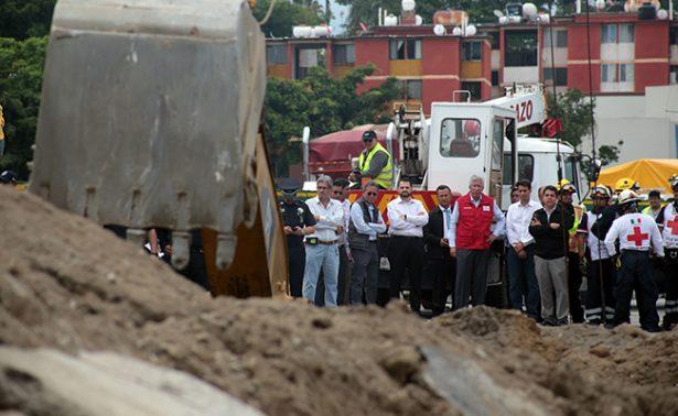 CNDH inicia quejapor violación a derechos humanos a víctimas de socavón