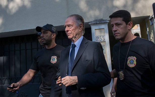 Arrestan al presidente del comité olímpico de Brasil por corrupción en Río 2016