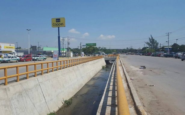 Desazolvan drenes en Altamira