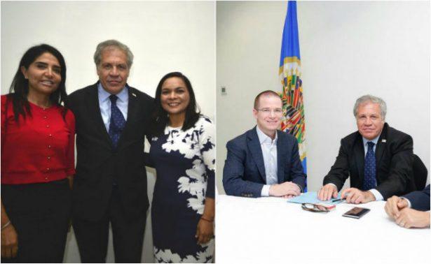 Demandan PAN y PRD a OEA vigilar elección de 2018