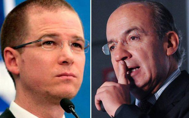 Anaya es un dirigente que miente y divide al PAN: Calderón