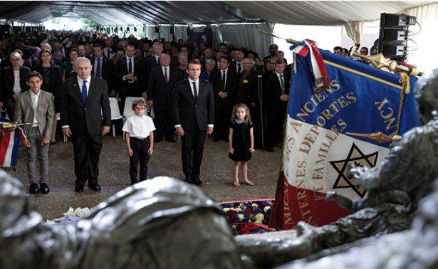 Macron continúa su ofensiva diplomática: pide a Netanyahu reanudar diálogo con palestinos