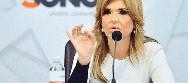 Entrega Claudia Pavlovich iniciativa para reducir recursos a partidos