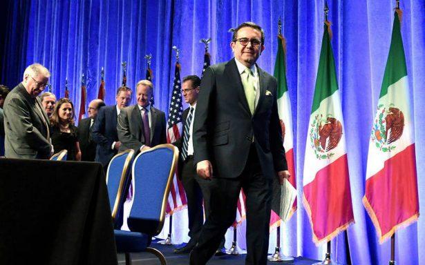 Negociación del TLCAN seguirá pese a decepción de las partes: Guajardo