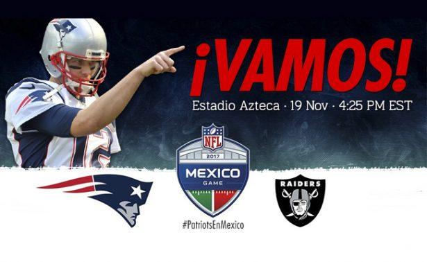 ¡Ya hay fecha para el Patriots-Raiders en México!