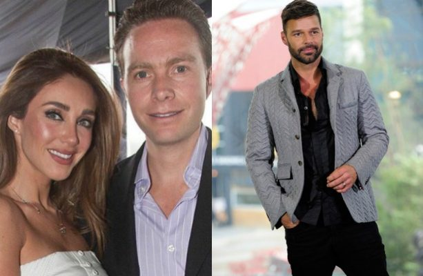 Anahí y Manuel Velasco se reúnen con Ricky Martin