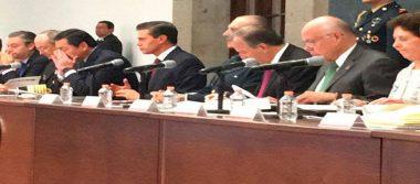 Peña Nieto comparte el balance de daños tras sismos