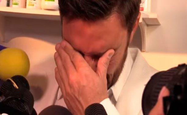 Julián Gil llora al hablar de su hijo y ruptura con Marjorie de Sousa
