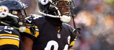 Acereros convierten a Antonio Brown en receptor mejor pagado de la NFL